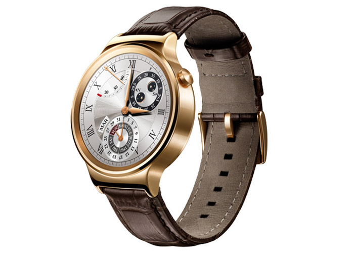 Huawei Watch золотые