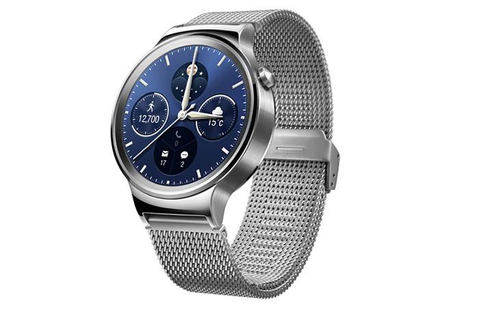 Huawei Watch серебристые