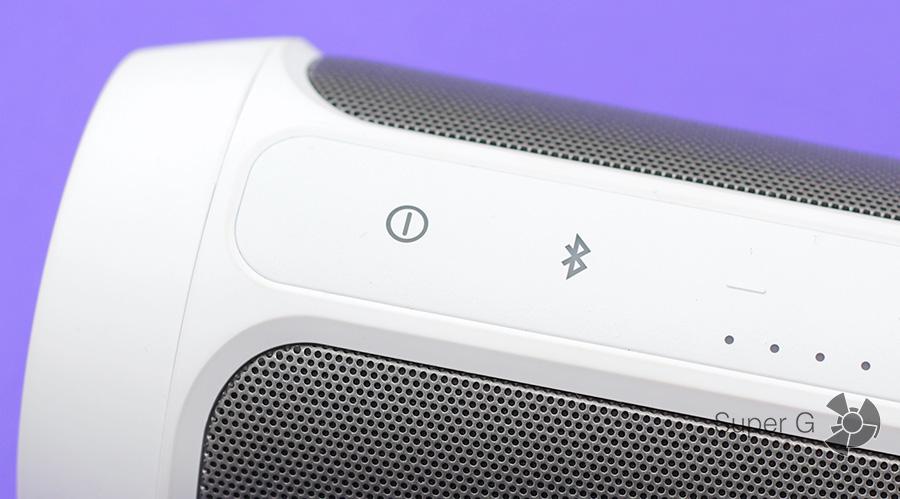 Кнопка включения и Bluetooth