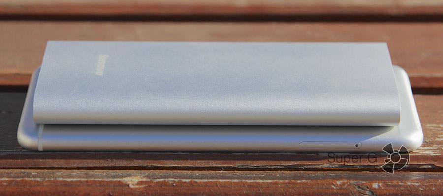 Сравнение толщины Lenovo MP506 и Lenovo S90