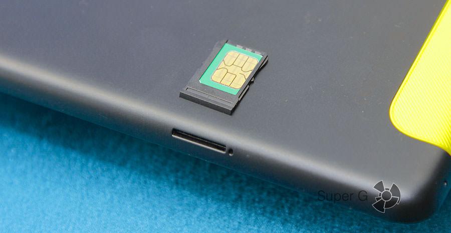 Лоток под SIM-карту