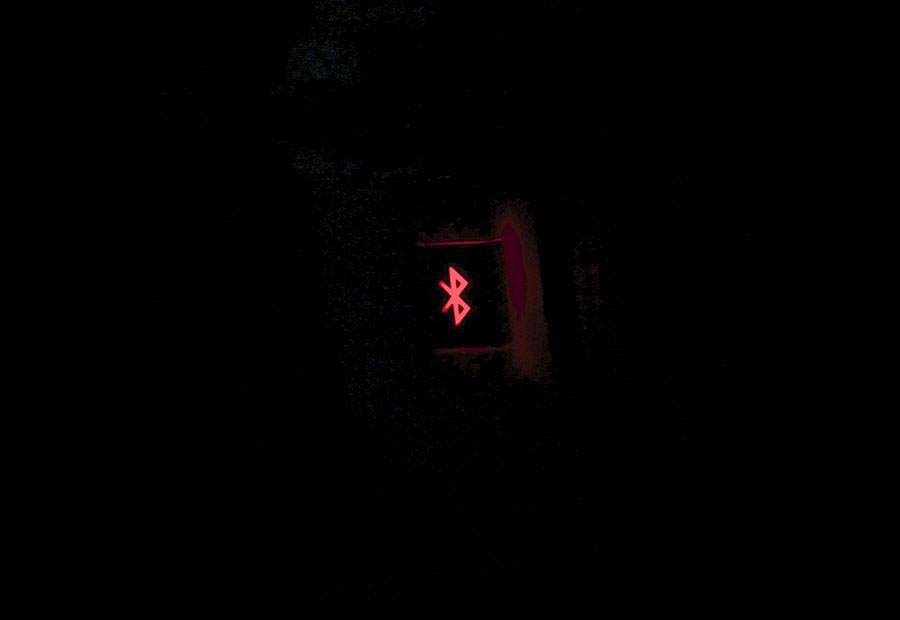 Индикатор зарядки в темноте