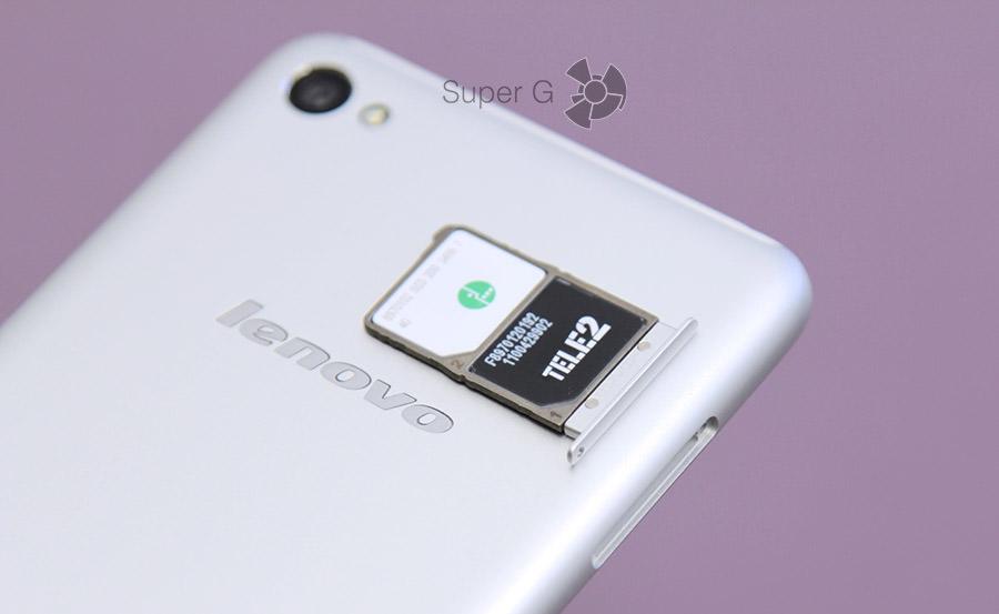 Лоток под SIM-карты