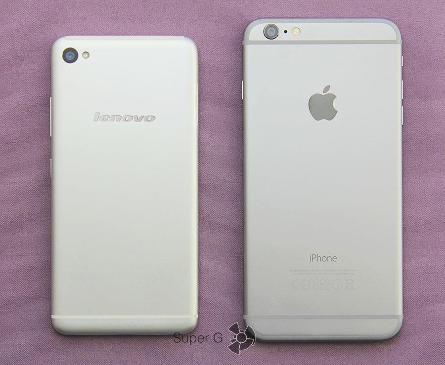 iPhone 6 Plus и Lenovo Sisley S90