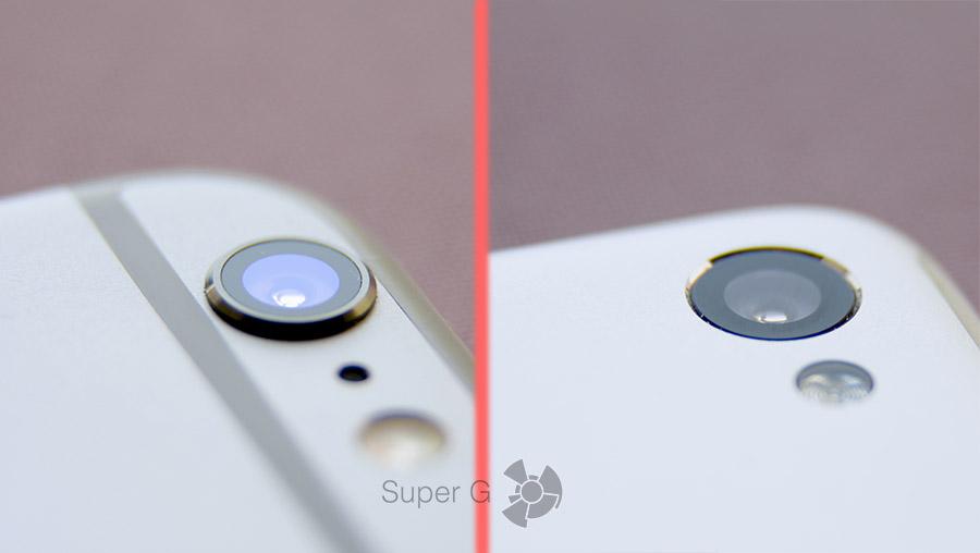 Камера iPhone 6 и Lenovo Sisley S90