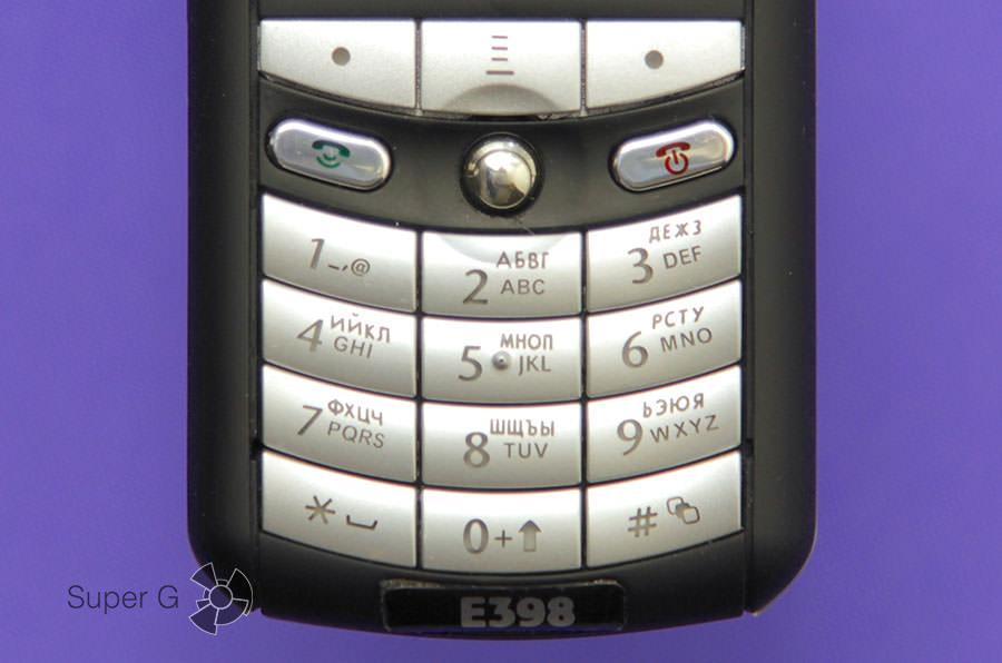 Клавиатура E398
