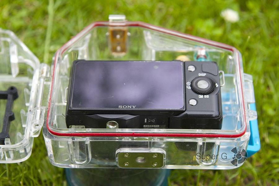 Укладываем фотоаппарат