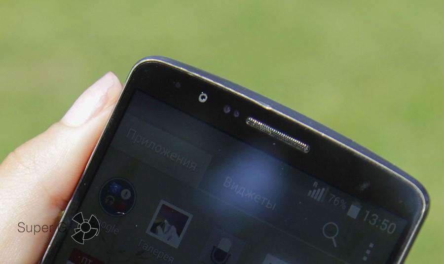 Передняя камера LG G3