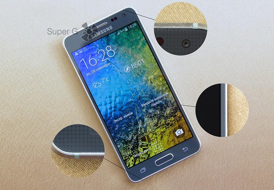 Огрехи конструкции Samsung Galaxy Alpha