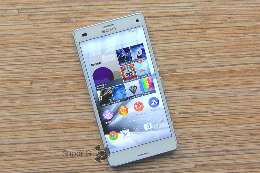 Белый Sony Xperia Z3 Compact