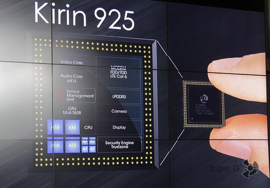Процессор Huawei Ascend Mate 7