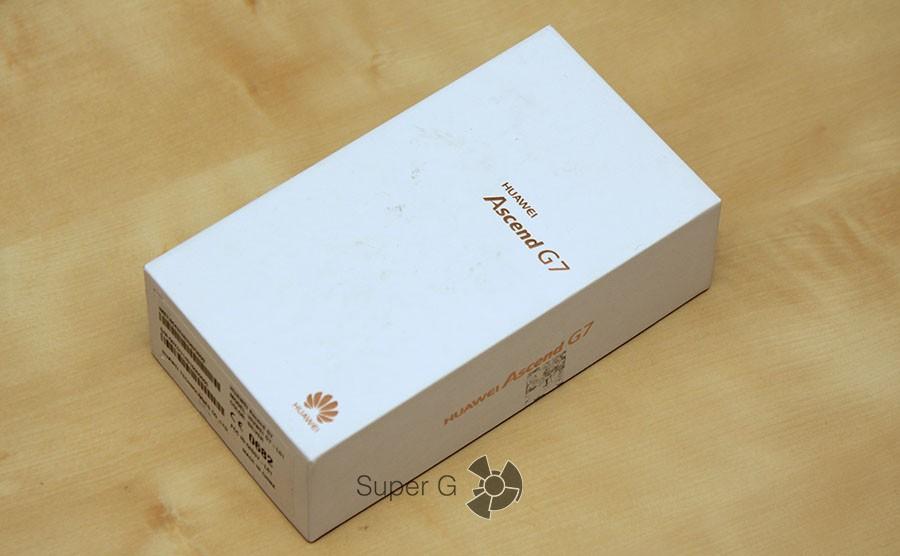 Упаковка Huawei Ascend G7