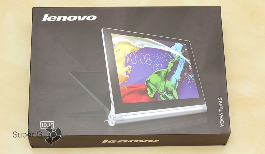 Упаковка Lenovo Yoga Tablet 2
