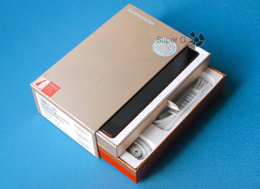 Комплектация Lenovo Vibe X2