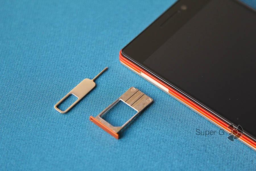 SIM-карта Lenovo Vibe X2