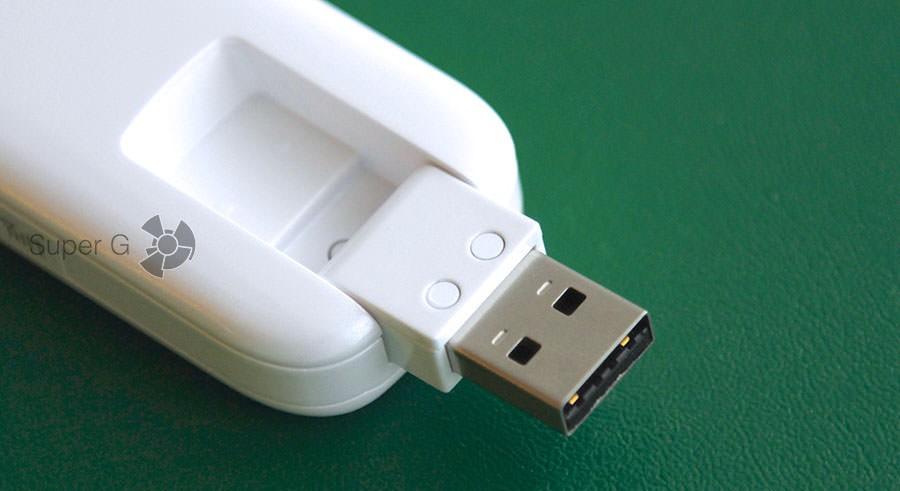 Выдвигающийся USB