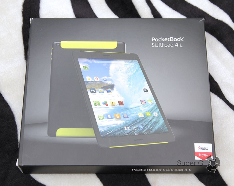 Распаковка PocketBook SURFpad 4L