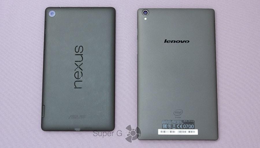 Сравнение Lenovo TAB S8 и Asus Nexus 7 2