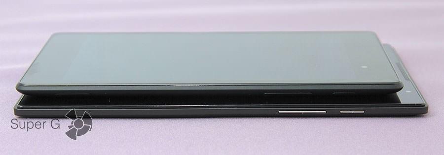 Google Nexus 7 и Lenovo TAB S8