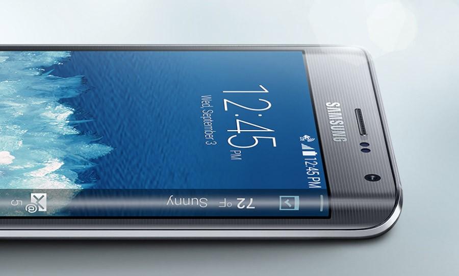 Samsung Edge (сбоку)