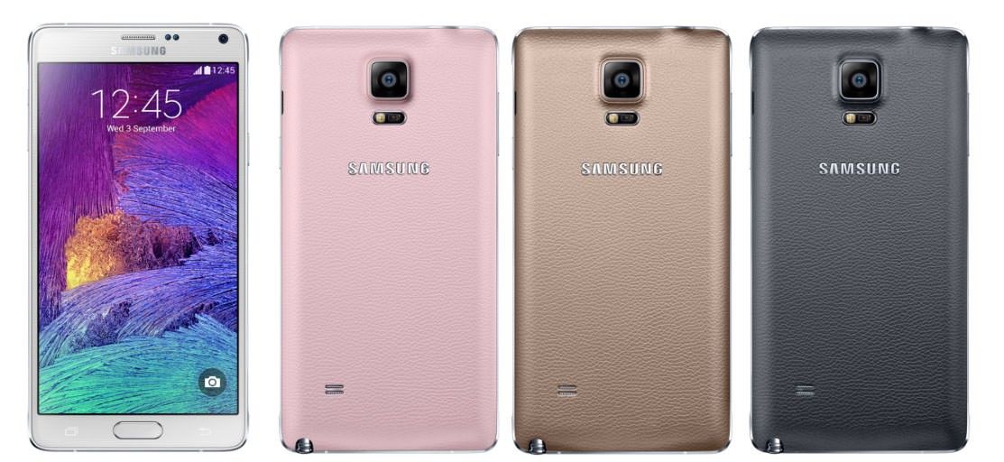 Samsung GALAXY Note 4 Colours