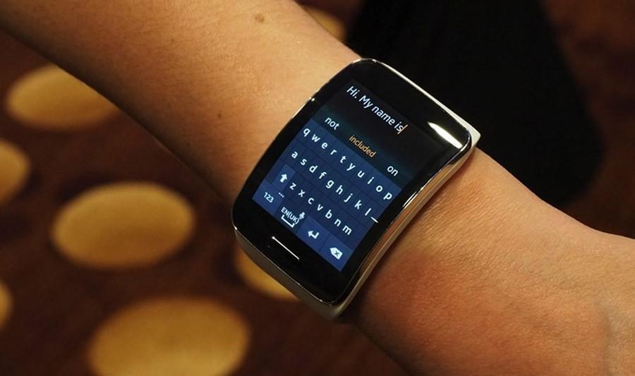 Samsung Gear S клавиатура