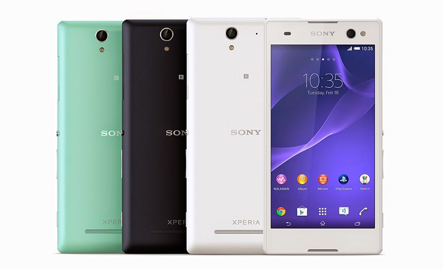 Sony Xperia C3 корпус и цвета