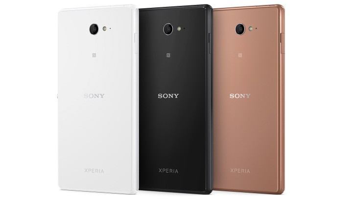 Sony Xperia M2 Aqua colours