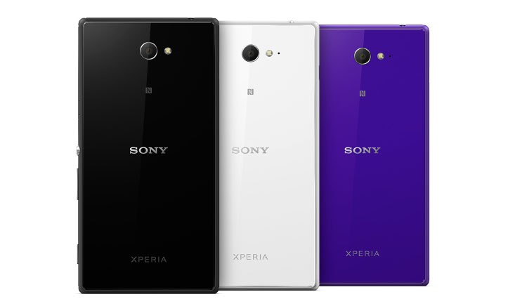 Sony Xperia M2 (colors)