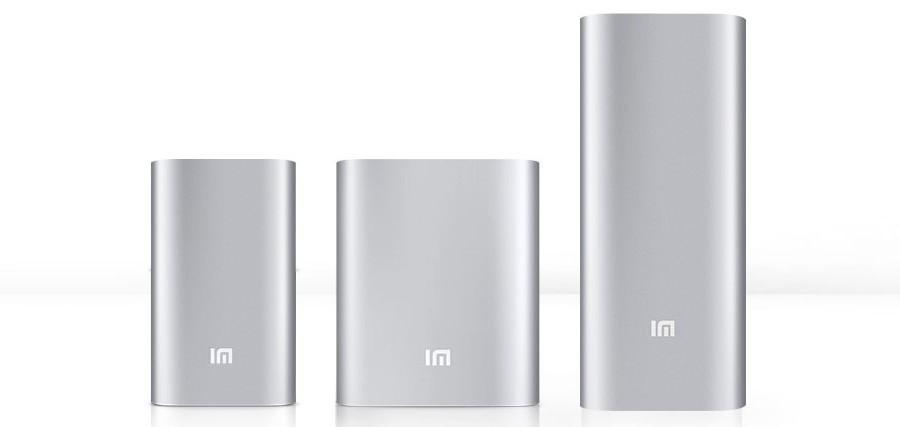 Xiaomi Mi Power Bank аккумуляторы
