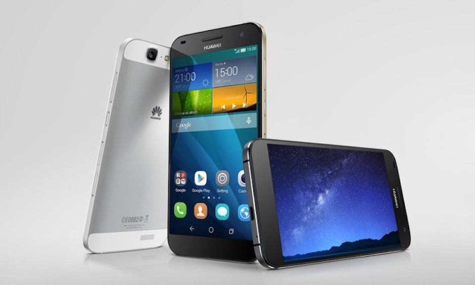 Huawei Ascend G7 colors