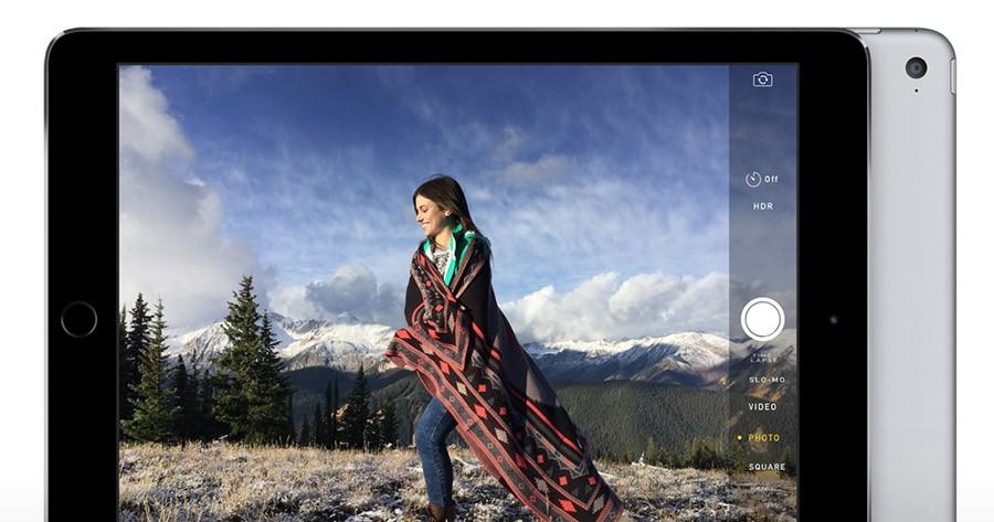 iPad Air 2 (камера)