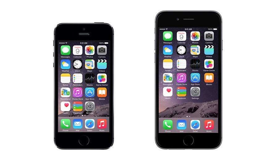 iPhone 5S и iPhone 6 сравнение