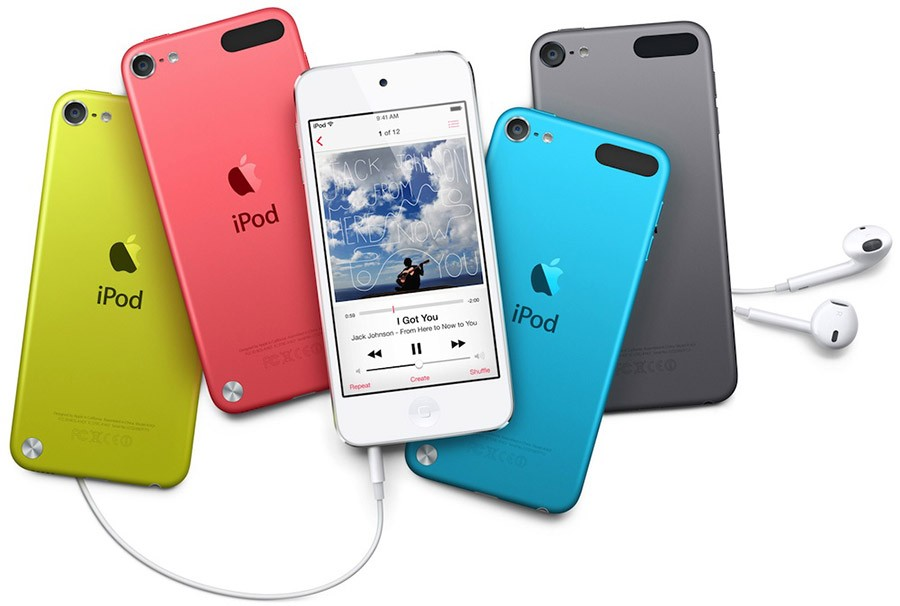 iPod touch 5 colors