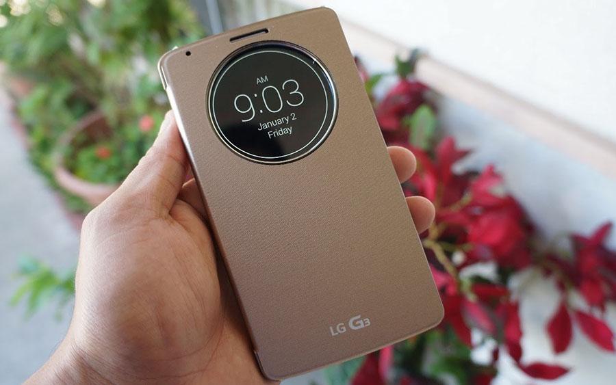 LG Quick Circle для LG G3