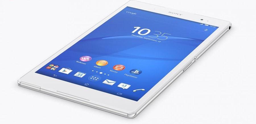 Внешний вид Sony Xperia Z3 Tablet Compact