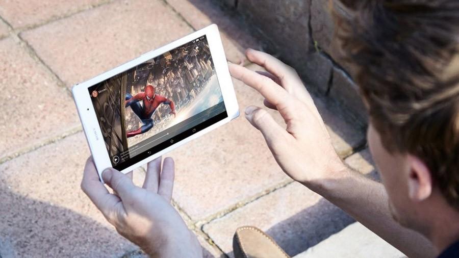 Просмотр видео на Sony Xperia Z3 Tablet Compact